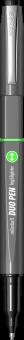 Duo Pen Scrikss Duo Pen Grey Grey / Black-Green