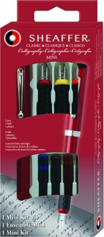 Set 4 piese Red Calligraphy Set Mini Caligrafie