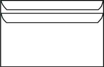PLIC C6 80G 114X162 MM GUMAT AUTOADEZIV CUTIE 1000 ALB