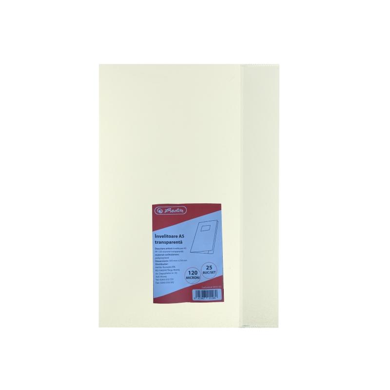 INVELITOARE A5 PP 120 MICRONI TRANSPARENTA