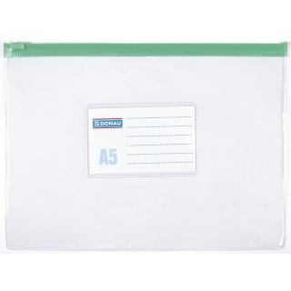 Mapa protectie pentru documente A5, 170 microni, cu fermoar, DONAU