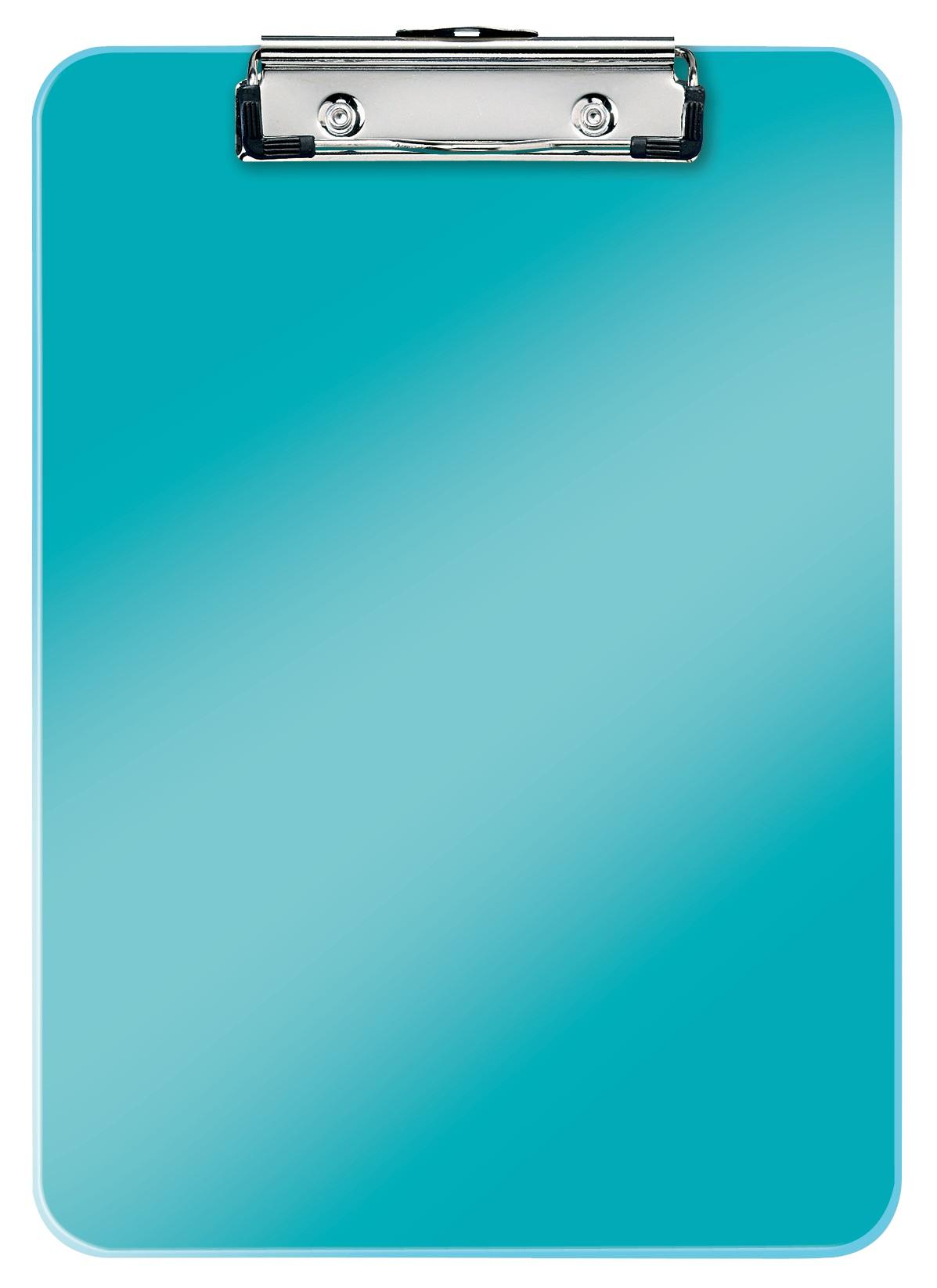 Clipboard simplu LEITZ Wow, PS - turcoaz metalizat