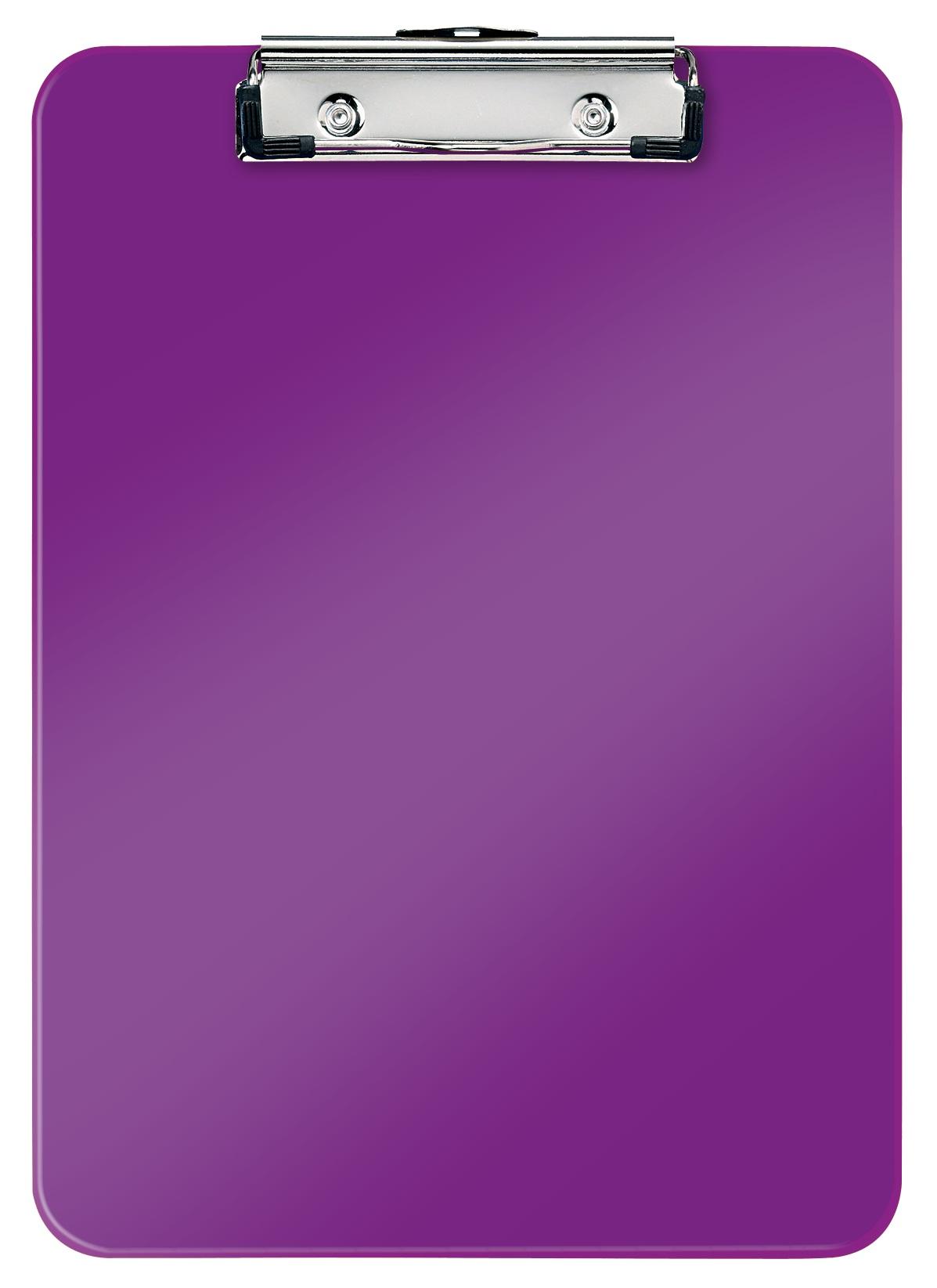 Clipboard simplu LEITZ Wow, PS - mov metalizat