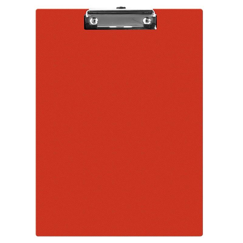 Clipboard simplu A5, plastifiat PVC, Q-Connect - rosu