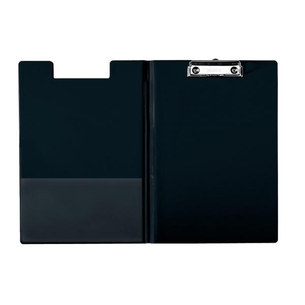 Clipboard ESSELTE dublu, PP - negru