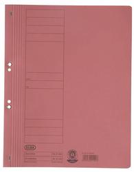 Dosar carton cu capse 1/1  ELBA - rosu