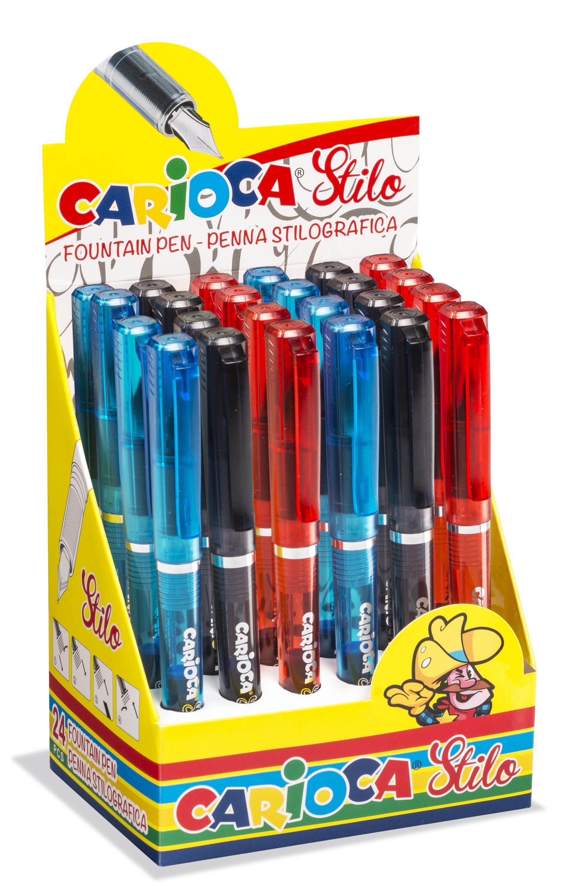 Stilou cu cartus cerneala, CARIOCA Stilo