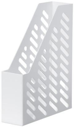 Suport vertical plastic pentru cataloage HAN Klassik - alb