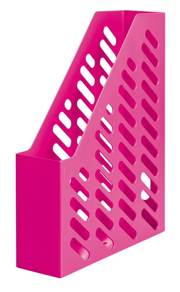 Suport vertical plastic pentru cataloage HAN Klassik Trend-colours - roz