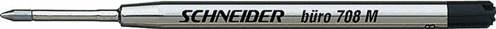 Rezerva metalica SCHNEIDER  buro 708M (tip Parker) - negru