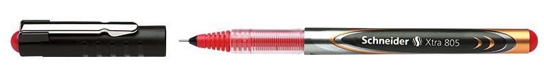 Roller cu cerneala SCHNEIDER Xtra 805, needle point 0.5mm - scriere rosie