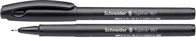 Liner SCHNEIDER  967, varf fetru 0.4mm - negru
