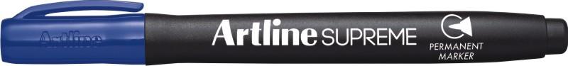Permanent marker ARTLINE Supreme, corp plastic, varf rotund 1.0mm - albastru