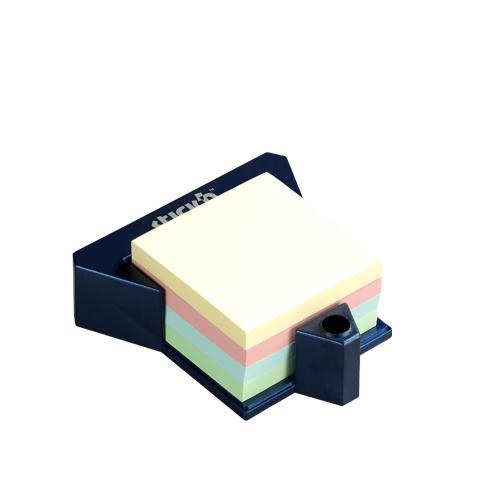 Cub autoadeziv cu suport, 76 x 76 mm, 400 file, Stickn - 4 culori pastel