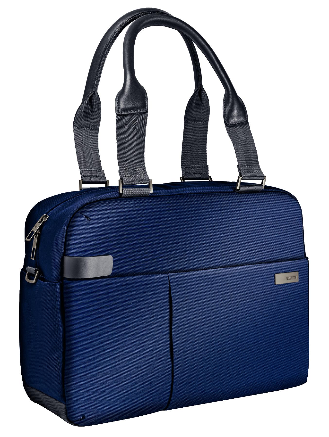 Geanta LEITZ Complete Shopper 13,3 Smart Traveller - albastru/violet