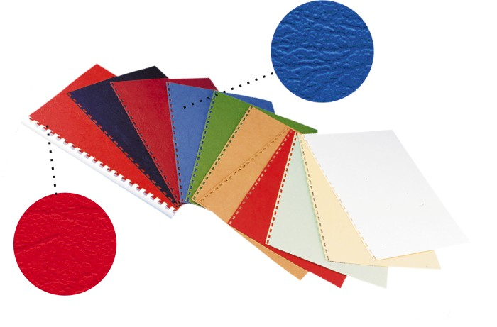 Coperta carton imitatie piele 250g/mp, A4,100/top OPUS - orange