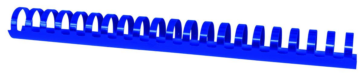 Inele plastic 28 mm, max 270 coli, 50buc/cut Office Products - albastru