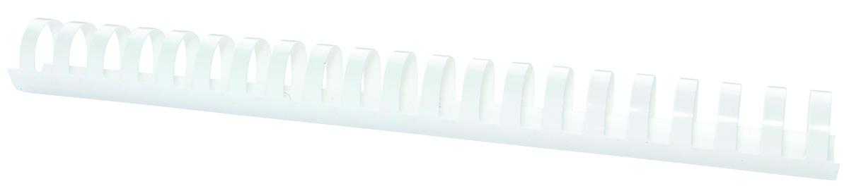 Inele plastic 28 mm, max 270 coli, 50buc/cut Office Products - alb