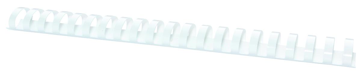 Inele plastic 32 mm, max 300 coli, 50buc/cut Office Products - alb