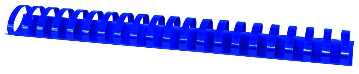 Inele plastic 38 mm, max 350 coli, 50buc/cut Office Products - albastru