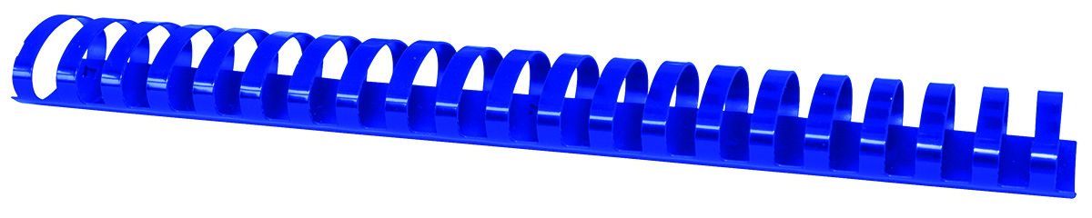 Inele plastic 45 mm, max 440 coli, 50buc/cut Office Products - albastru