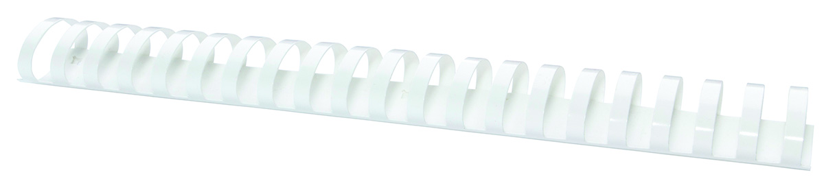 Inele plastic 45 mm, max 440 coli, 50buc/cut Office Products - alb
