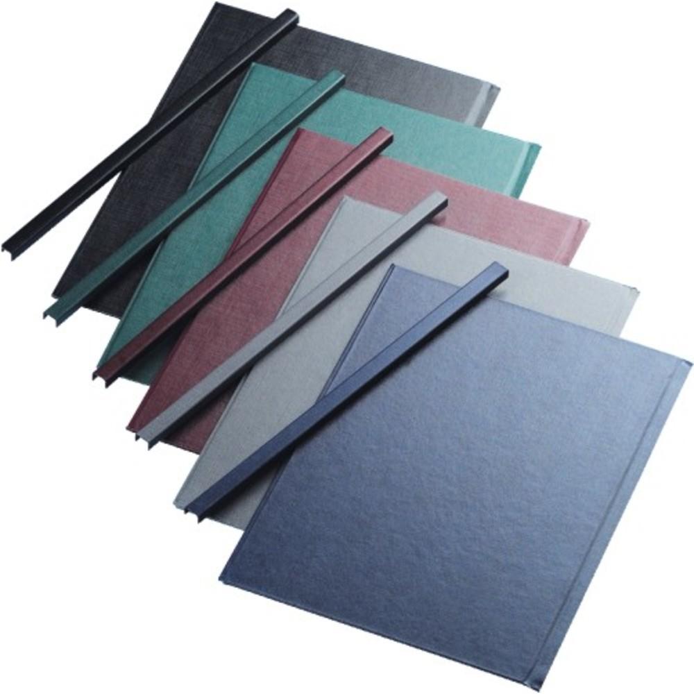 Sina metalica structura panzata, A4, 121-150 pag.(16 mm) 10 buc/set, Metal -BIND OPUS - albastru