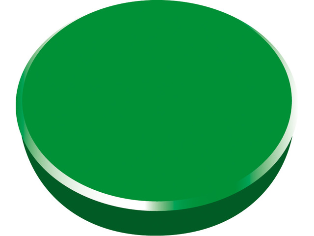Magneti 38mm, strong, 10/cutie, ALCO - verde