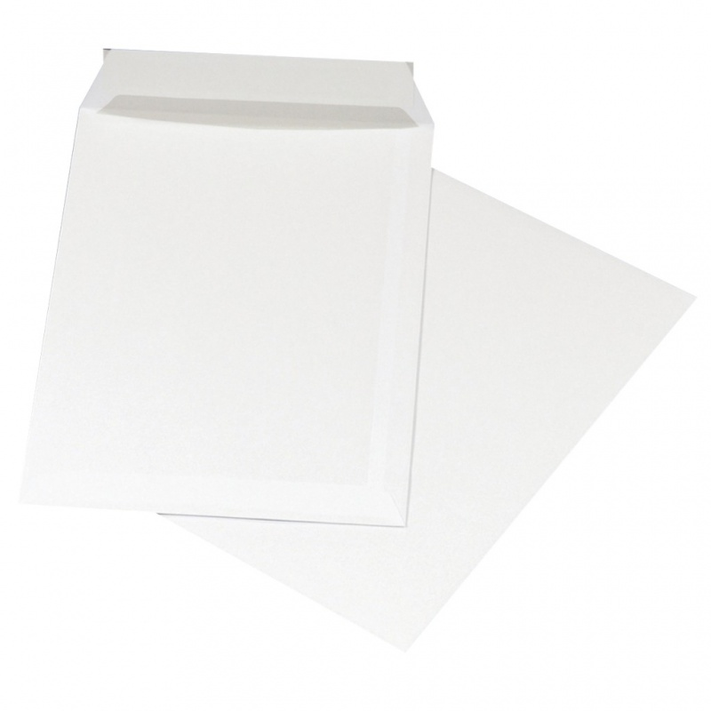 Plic C5 (162x229mm), lipire siliconica, 500 buc/cutie, Office Products - alb